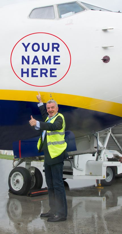 Ryanair Launches Aircraft Livery Advertising