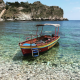 Isola Bella: The pebbly Isola Bella is not just a beach, but also an island and nature reserve